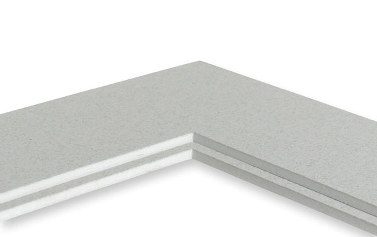 8x10 Double 25 Pack (Standard White Core) -  includes mats, backing, sleeves and tape!