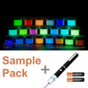 glow powder with uv laser pen