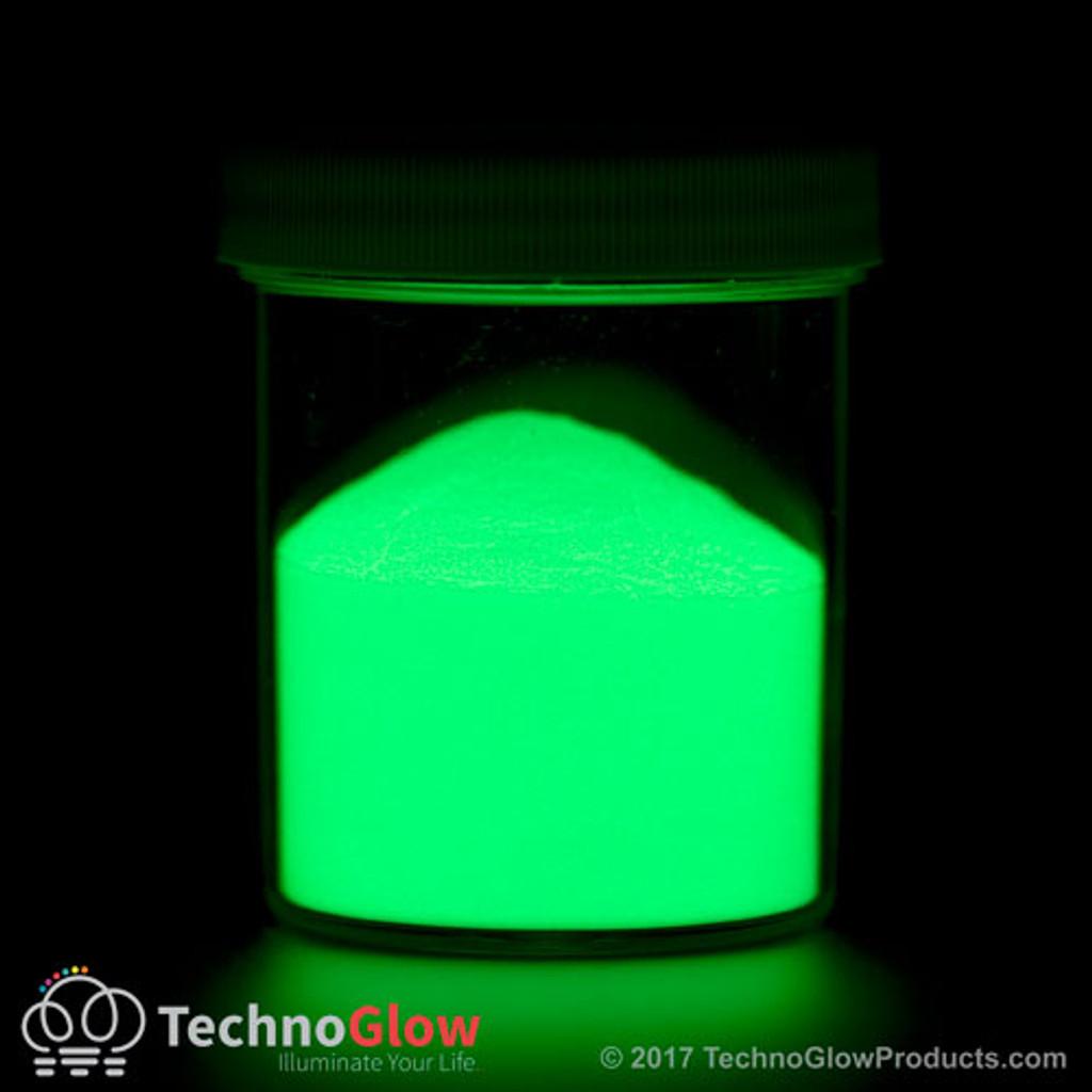 Green Glow in the Dark & UV Powder <150 Microns