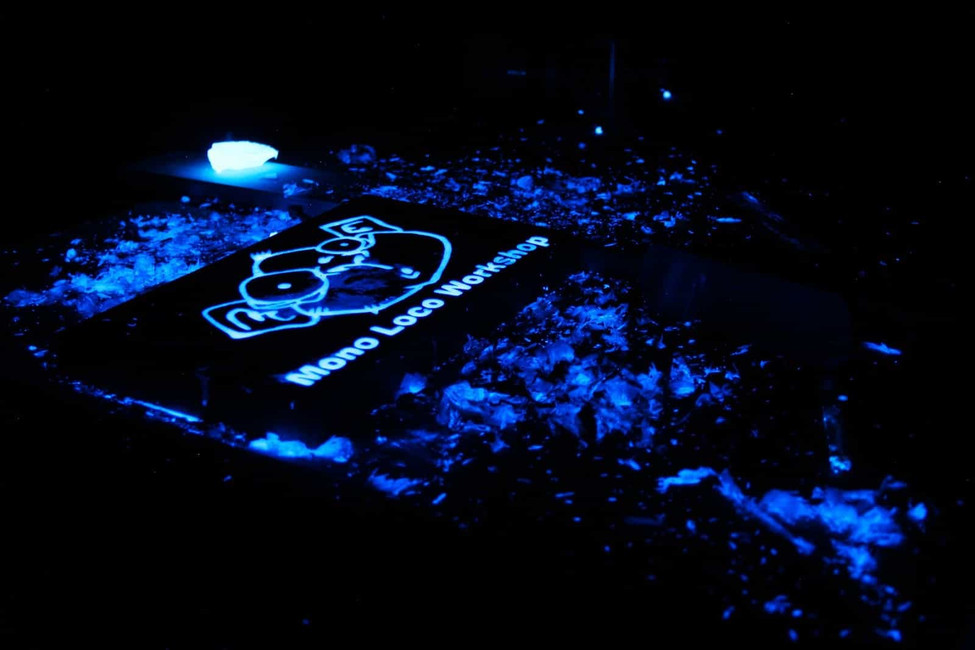 How to make a Glow in the Dark Sign?