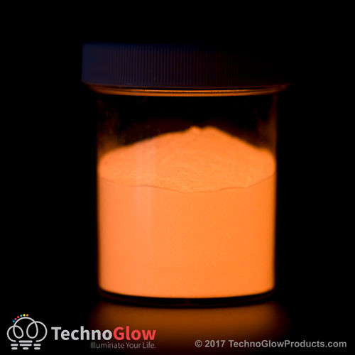 Orange Photo luminescent powder