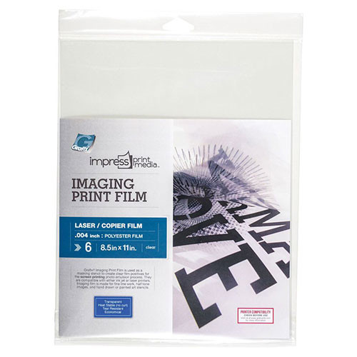 Imaging Print Film for Laser - 6 Pack