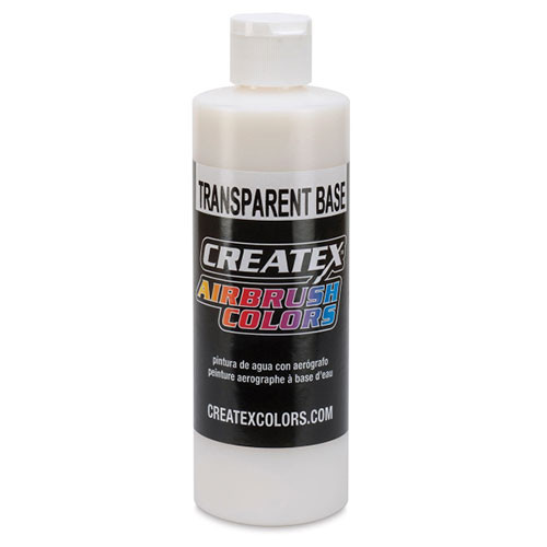 transparent base paint by createx colours