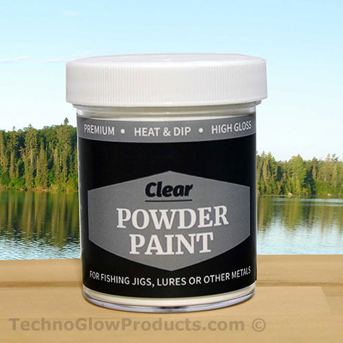 Clear Powder Paint 2.5 oz