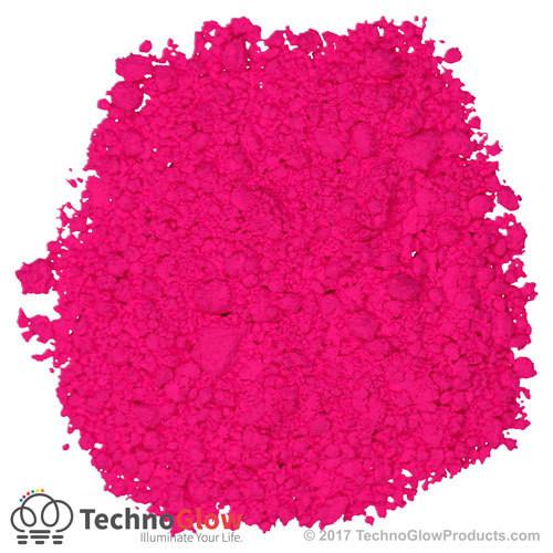 Magenta Fluorescent Powder