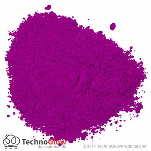 Purple Fluorescent UV Powder