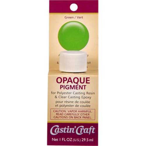 Green Dye for Resin & Epoxy - Opaque