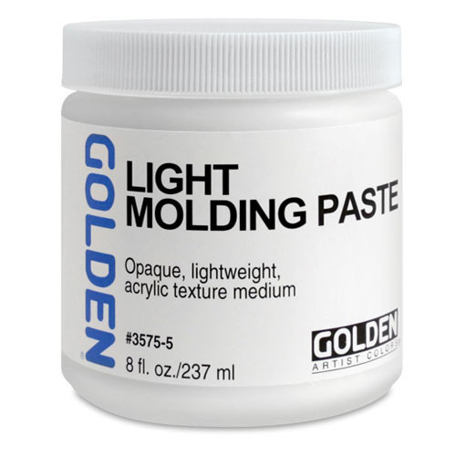 Golden Light Molding Paste Medium