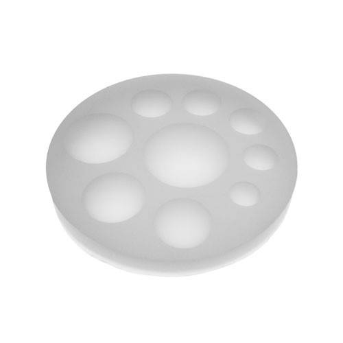 Silicone  Round Gem Jewelry Tray Mold