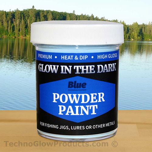 Blue Glow in the Dark Powder Paint - 2.5 oz. Jar