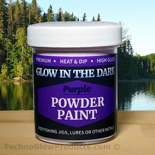 Purple Glow in the Dark Powder Paint - 2.5 oz. Jar