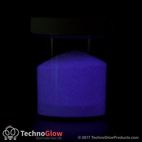 purple photo luminescent powder