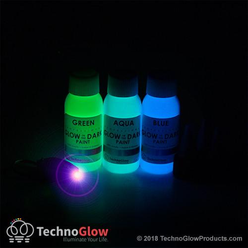 Glow Paint Performance Kit + UV Light