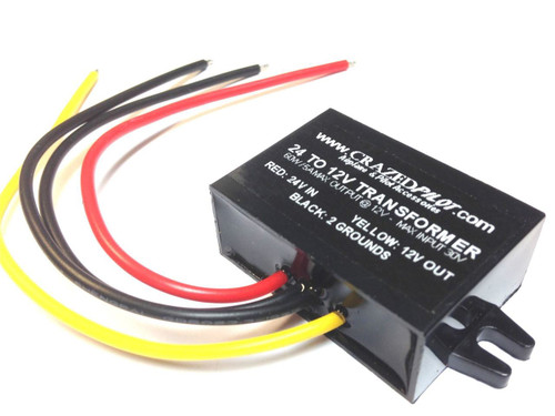 24V to 12V Converter / Stepdown Transformer for Aircraft / Airplane up to 28V