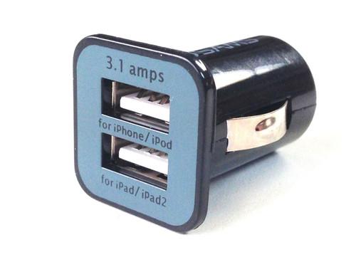 Dual USB Cigarette Lighter Adapter