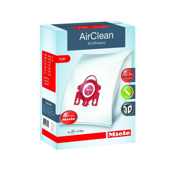 MIELE FJM 4 PACK.(4 BAGS+ 2 FILTERS)
