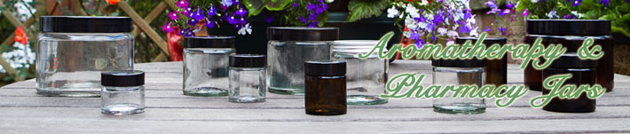 Aromatherapy, Cosmetic and Pharmacy Jars Range