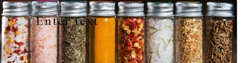 Spice Jars by Wares of Knutsford