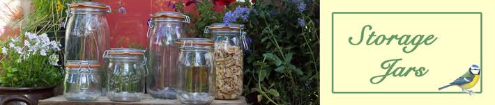 Glass Storage Jars Range by Wares of Knutsford