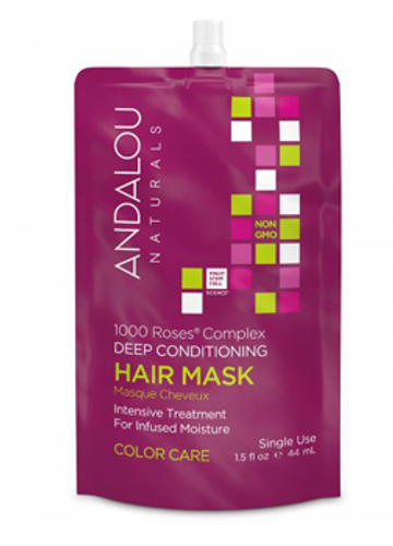 Andalou Naturals: 1000 Roses Complex Deep Conditioning Hair Mask (44ml)