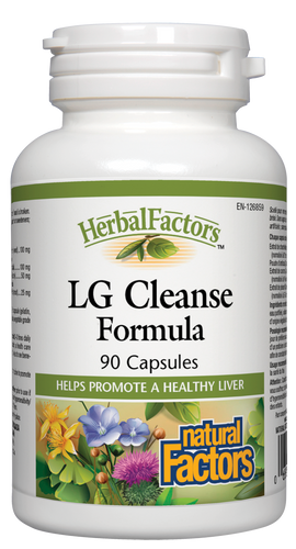 Natural Factors: LG Cleanse Formula (90 Capsules)