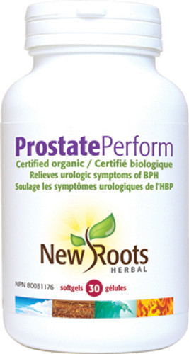 New Roots Herbal: Prostate Perform (30 SoftGels)