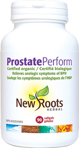 New Roots Herbal: Prostate Perform (90 SoftGels)