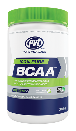 PVL: 100% Instant BCAA - Unflavoured (315g)
