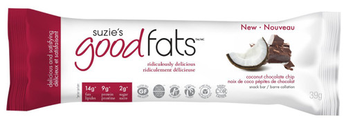Suzie's Good Fats: Snack Bar - Coconut Chocolate Chip (39g)