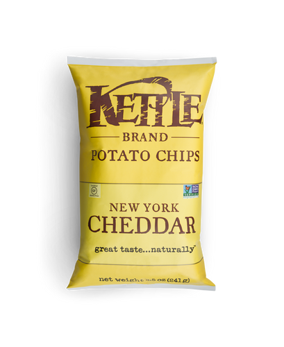 Kettle: New York Cheddar Potato Chips (220g)