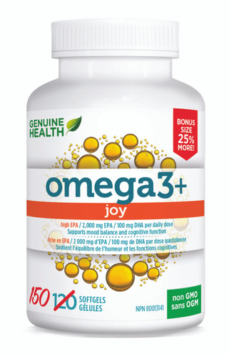 Genuine Health: omega3+ Joy BONUS