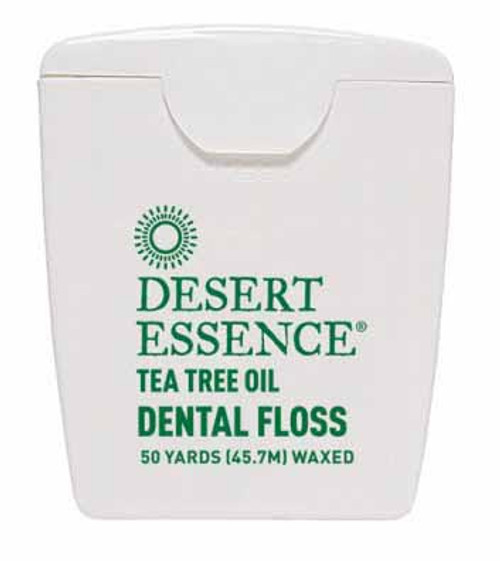 Desert Essence: Tea Tree Oil Dental Floss (50yd)