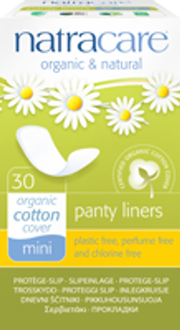 Natracare: Mini Panty Liners (30 Count)