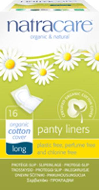 Natracare: Long Panty Liners (16 Count)