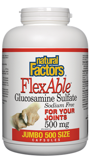 Natural Factors: Flexable GLS (500 Capsules)