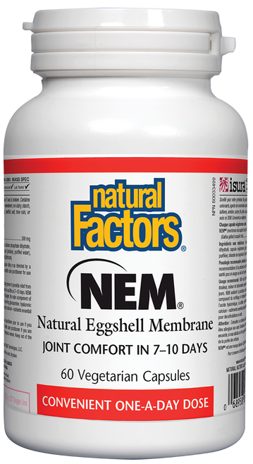 Natural Factors: NEM (500mg) (60 Vegetarian Capsules)
