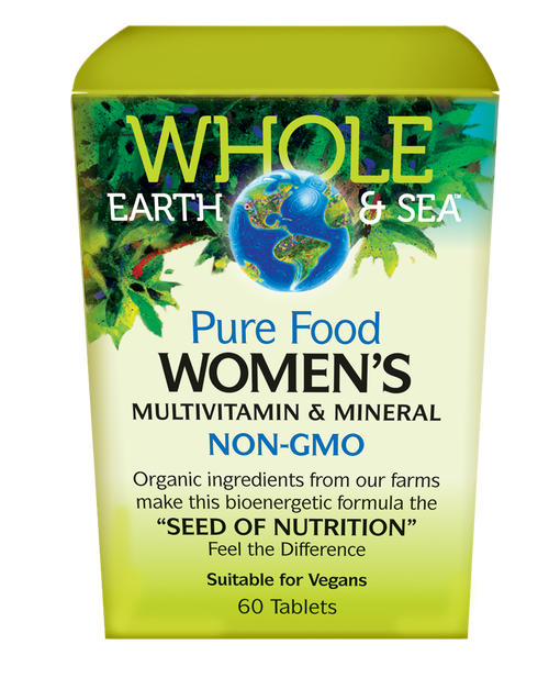 Whole Earth & Sea: Women's Multivitamin & Mineral (60 Tablets)