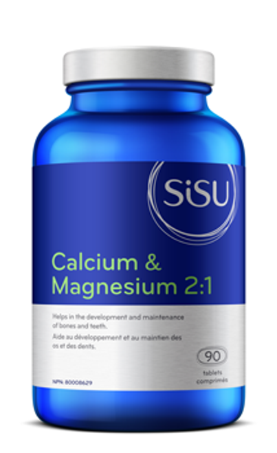 Sisu: Calcium & Magnesium 2:1 with Vitamin D (90 Tablets)