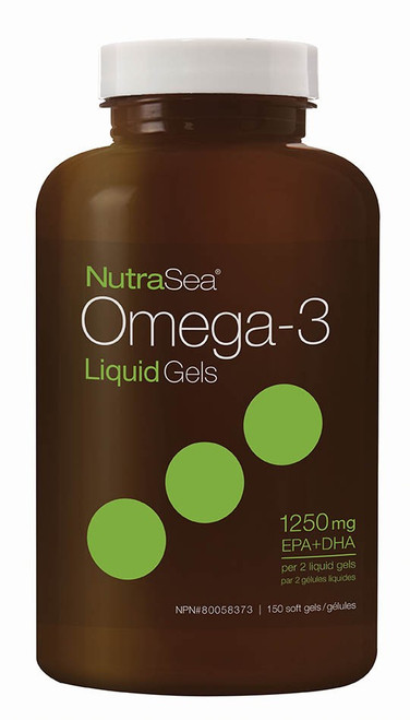 Ascenta: NutraSea Omega-3 Liquid Gels Fresh Mint Flavour (150 Softgels)