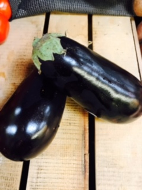 Certified Organic Eggplant (Each)