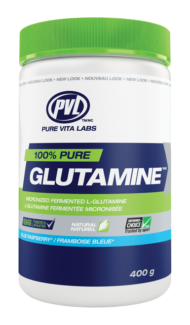 PVL: 100% Pure Glutamine - Blue Raspberry (400g)