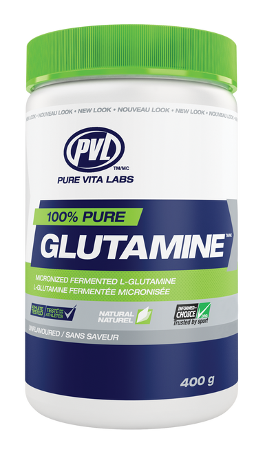 PVL: 100% Pure Glutamine - Unflavoured (400g)