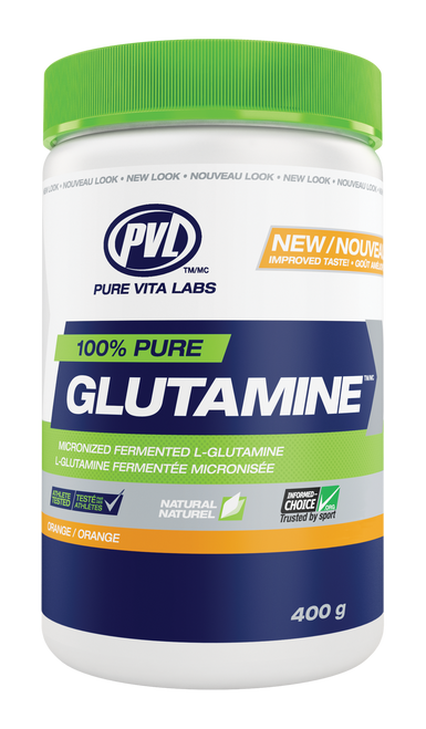 PVL: 100% Pure Glutamine - Orange (400g)