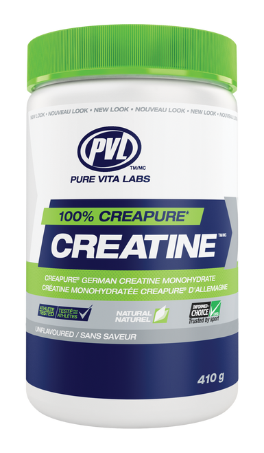 PVL: 100% Pure Creatine - Unflavoured (410g)