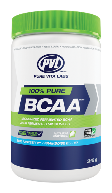 PVL: 100% Pure BCAA - Blue Raspberry (315g)