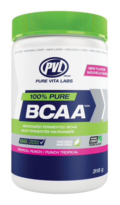 PVL: 100% Pure BCAA - Tropical Punch (315g)
