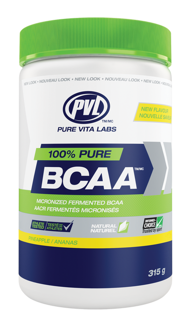 PVL: 100% Pure BCAA - Pineapple (315g)