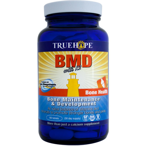 Truehope: BMD With Vitamin K2 (180 Tablets)