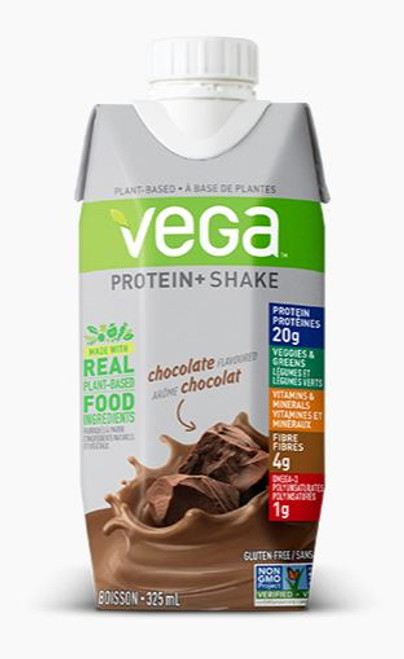 Vega: Protein + Shake - Chocolate (4X325ml)