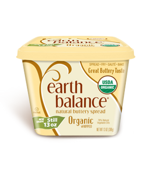 Earth Balance: Organic Whipped Buttery Spread (369g)